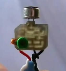 detalhe montagem bobina transmissor fm Circuito de micro transmissor de FM em montagem SMD   Vídeo montagem Vídeos Transmissores e RF Circuitos Áudio