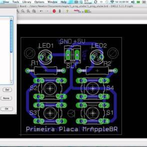Vídeo tutorial curso gratuito Cadsot Eagle – Parte 26 – Imprimindo a Placa