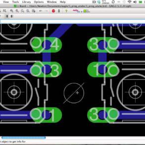 Vídeo tutorial curso gratuito Cadsot Eagle – Parte 23 – Fazendo a Placa – Parte 2