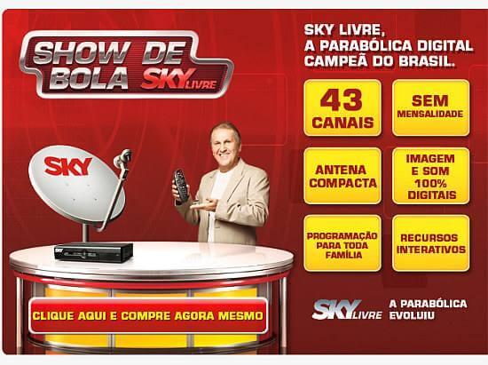 banner sky livre zico pre pago hebe Review sobre Sky Livre   Compensa adquirir? Como funciona? tv digital Tutoriais parabólica Notícias dicas como ligar uma antena parabolica Dicas