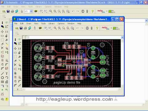 , Download eagleUp – Software para renderizar imagem 3d do Eagle