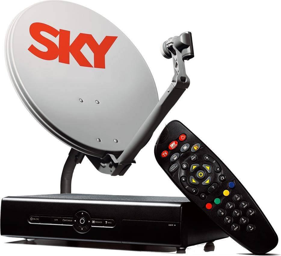 Resultado de imagem para antena sky