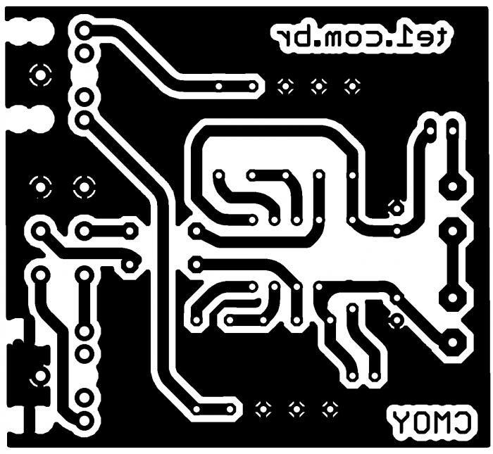 Amplificador fone ouvidos pcb cmoy 700x645 CMoy   circuito de amplificador estéreo para fones de ouvido Pré amplificadores Circuitos Áudio