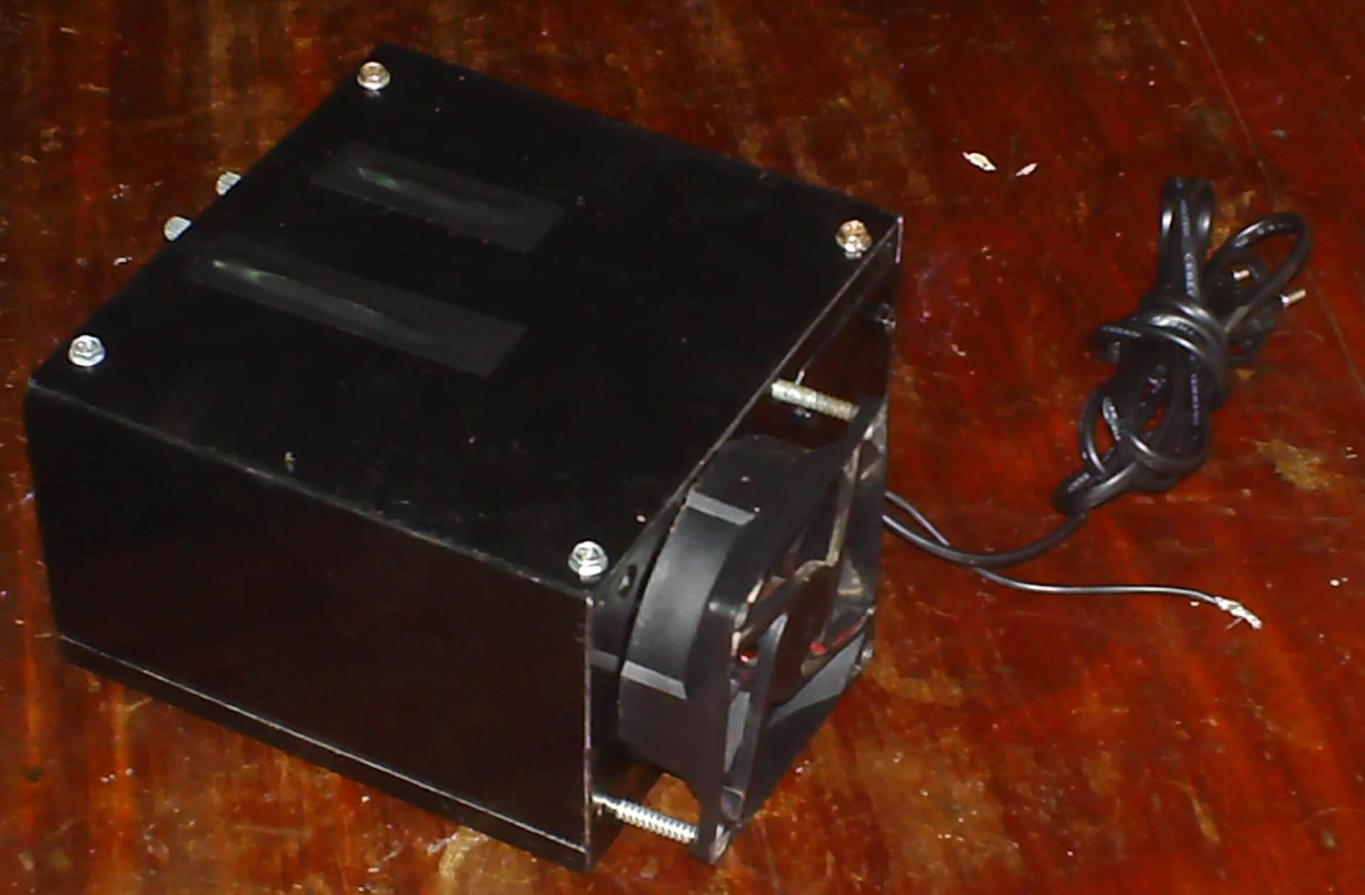 , Amplificador bem caseiro com TDA 2050 e TL071