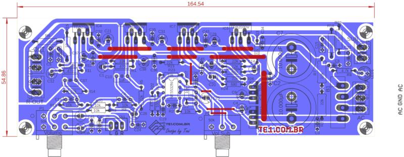 Subwoofer Amplificador Bridge 30W Tda2030 Circuito Tda2040 Áudio Super Stereo Amp Pcb Power 35W Bridge Amplifier Diagram Amplifier Circuit