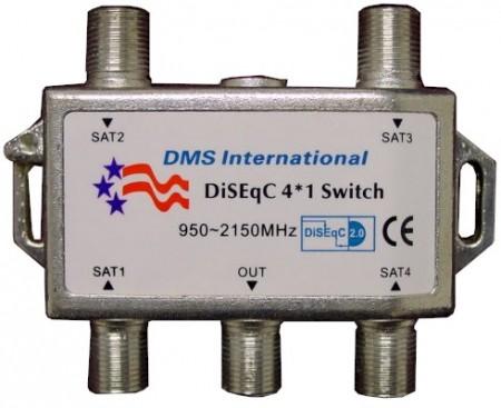 chave diseqc 4x1 dms internacional 450x367 O que é o protocolo Diseqc e Chaves  para parabólica Tutoriais parabólica Notícias Dicas