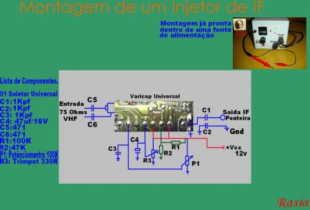 injetor de fi 450x304 INJETOR DE FI: Sintonizador Independente para TV