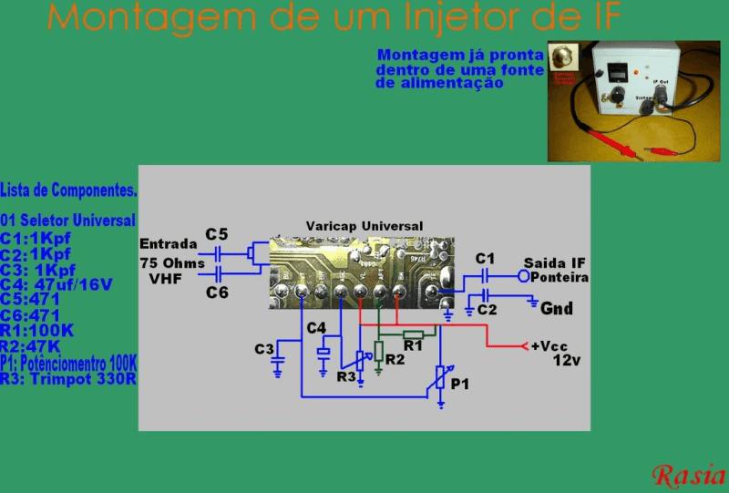 Injetor De Fi Injetor De Fi Circuitos Injetor De Fi: Sintonizador Independente Para Tv