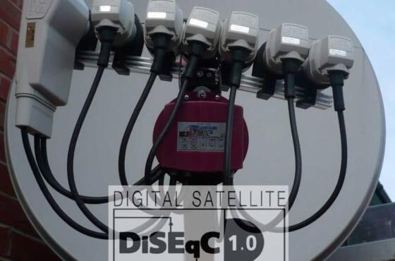 O que é o protocolo Diseqc - utilizada em Chaves para comutar antenas parabólicas em recepção digital via satélite