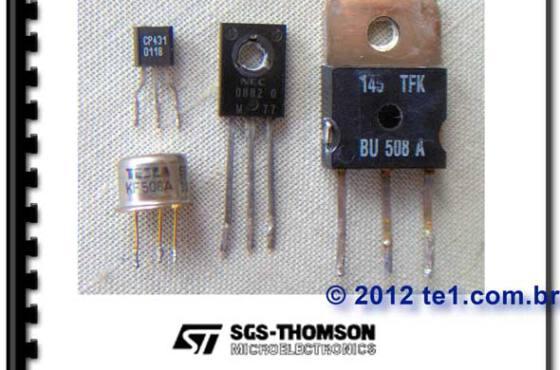 Baixar PDF Equivalência de transistor Bipolar - SGS-THOMSON - Referência cruzada para substituição de transistores