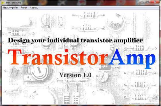 Download transistoramp 1. 1 - software gratuito para projetos de amplificadores com transistor bipolar