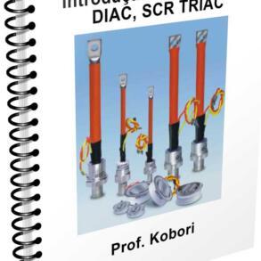 Download Apostila sobre Tiristores – Diac, SCR e TRIAC – Professor Kobori