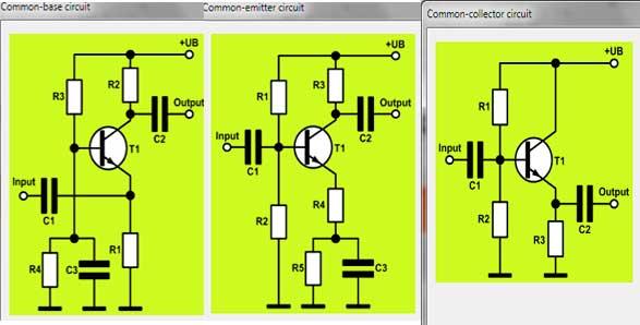 emisso coletor base comum transistor amplificador1 Download TransistorAmp 1.1   Projetos de amplificadores com transistor transistor Software de eletrônica Download Calculadoras