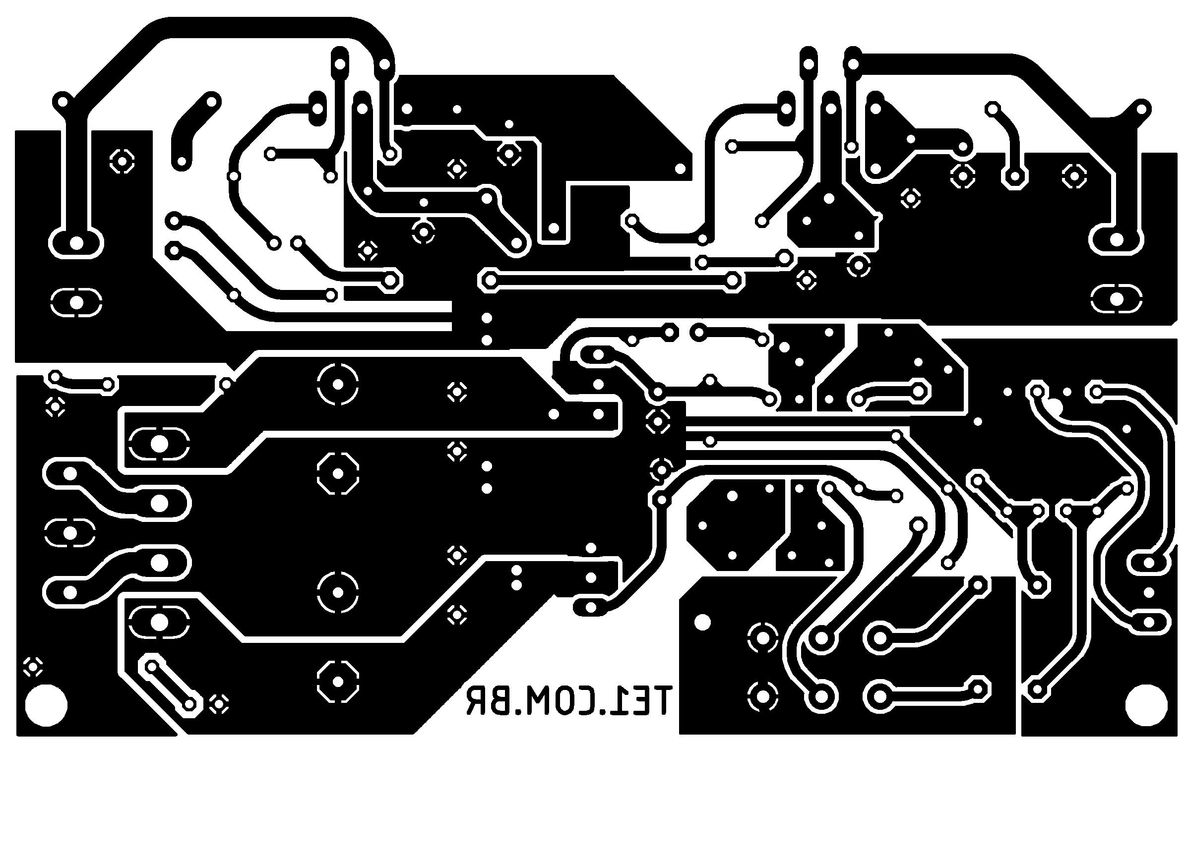 tda2050 ne5532 amplificador audio estereo Amplificador de potência de áudio estéreo com TDA2050 2 x 32 Watts tda Pré amplificadores Circuitos Áudio