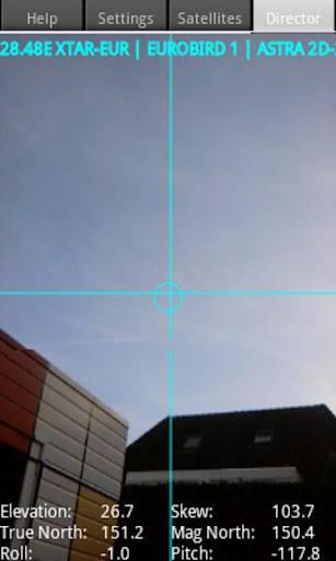 Satellite Director Zekitez android Softwares com cálculos para auxiliar no apontamento de antenas parabólicas para diversos satélites   Para dispositivos móveis com Android e IOs