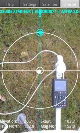 Satellite Director Zekitez android 2 Softwares com cálculos para auxiliar no apontamento de antenas parabólicas para diversos satélites   Para dispositivos móveis com Android e IOs