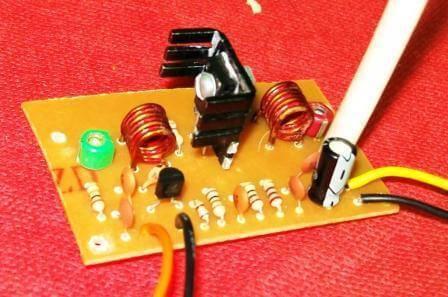 , Transmissor de FM com saída amplificada – BD135