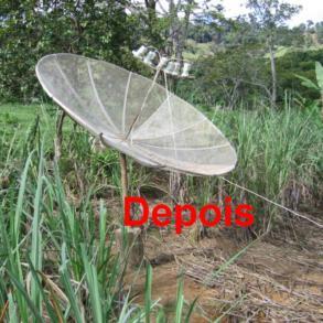 Lista de Canais de TV e rádio analógico banda C satélite Star One C2