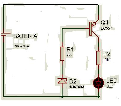 medidor bateria automotivaa1 Medidor de bateria automotivo (indica o momento de desligar o som)