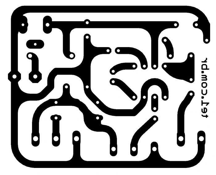 seguidor de sinal Pesquisador de audio lm386 placa 700x569 Circuito de seguidor de sinal Pesquisador  de áudio com LM386 Pré amplificadores dicas de conserto Dicas Circuitos Áudio