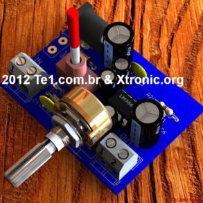 Como projetar circuitos de amplificador com LM386