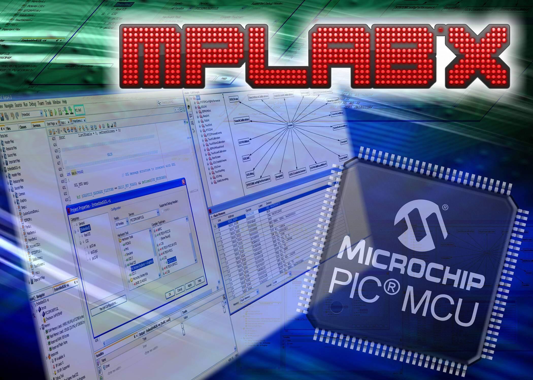 MPLAB_X_IDE_microchip_pic