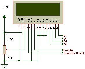 lcd controle automatico caixa agua pic16f628 Circuito de controle automático para caixa d'água microcontrolado usando pic16F628A Microcontroladores Dicas Controle Circuitos