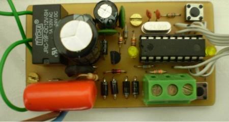 placa montagem controle automatico caixa gua microcontrolado 450x240 Circuito de controle automático para caixa d'água microcontrolado usando pic16F628A Microcontroladores Dicas Controle Circuitos