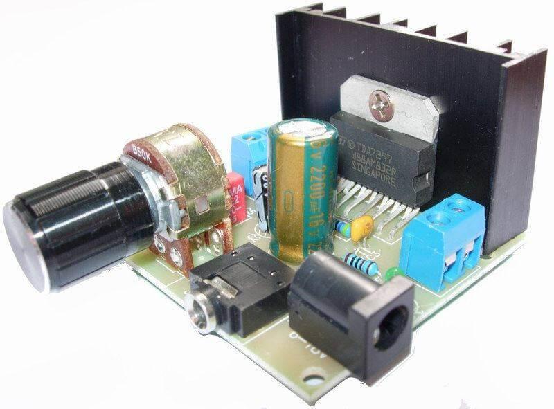 tda7297_amplificador_audio_estereo_montagem
