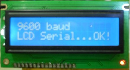 teste display serial pic 450x243 Como utilizar Display LCD serial usando pic16F628A   By Lobosoft Tutoriais Software de eletrônica Pic Microcontroladores Download Dicas Circuitos