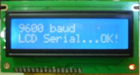 teste display serial pic 450x243 Como utilizar Display LCD serial usando pic16F628A   By Lobosoft Tutoriais Software de eletrônica Pic Microcontroladores Download Dicas Circuitos