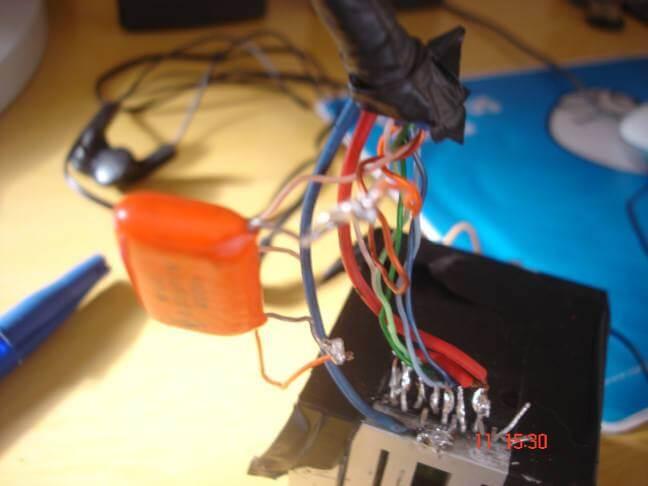 , Amplificador automotivo com TDA8560Q 2X 40 Watts.
