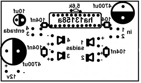 ha13158 23 450x267 Amplificador automotivo com HA13158A com 4 saídas de 34w RMS