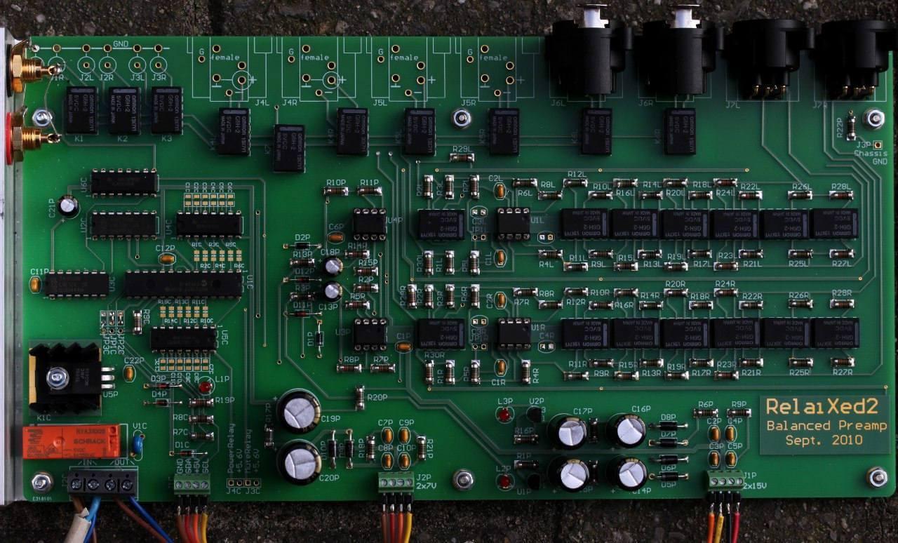 Projeto de Pré amplificador Balanceado profissional - High-End Áudio