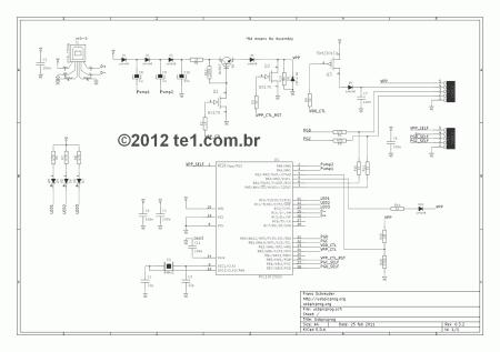 gravador pic usb programador esquema 450x317 USBPicprog   Gravador Programador de Pic USB Profissional Software de eletrônica Pic Microcontroladores microchip Gravadores Download Circuitos