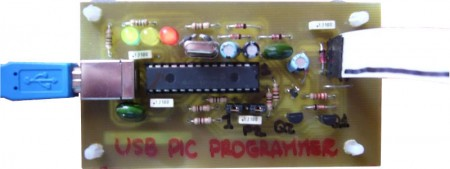 gravador programador pic usbpicprog microchip 450x169 USBPicprog   Gravador Programador de Pic USB Profissional Software de eletrônica Pic Microcontroladores microchip Gravadores Download Circuitos