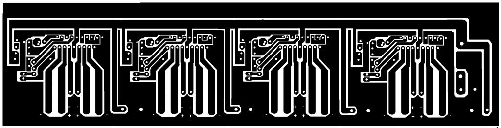 som4 1024x263 Circuito amplificador para som automotivo com  280 Watts RMS