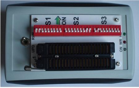 Placa de circuito impresso para montagem do gravador usbpicprog