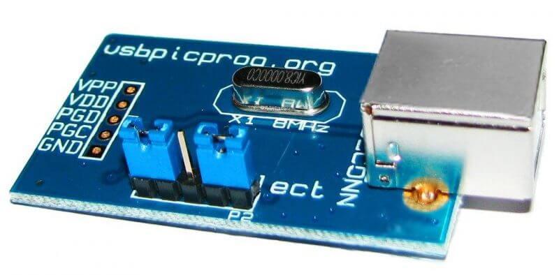 Usbpicprog Gravador Pic Usb Microchip Usbpicprog Circuitos Usbpicprog - Gravador Programador De Pic Usb Profissional