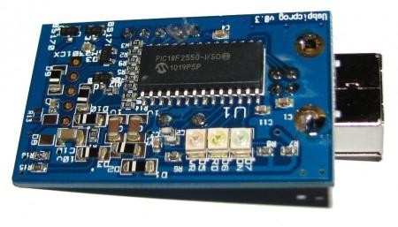 usbpicprog gravador pic usb pic16f2550 450x257 USBPicprog   Gravador Programador de Pic USB Profissional Software de eletrônica Pic Microcontroladores microchip Gravadores Download Circuitos