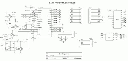 Open Programmer - Programador Open Source USB para Microntroladores PIC, EEPROMS Microware, Microntroladores ATMEL, dispositivos I2C/SPI e outros