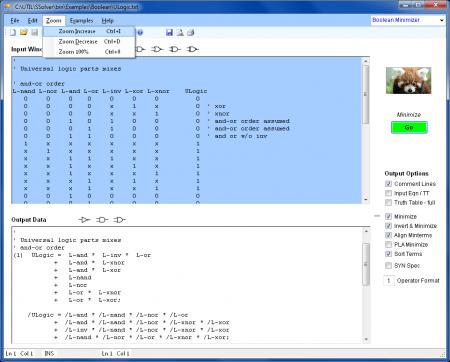 BEQ ULogic minimizar expressao boolena digital 450x362 Download Logic Design   Software de eletrônica digital Software de eletrônica Simulador eletrônica digital Download Circuitos