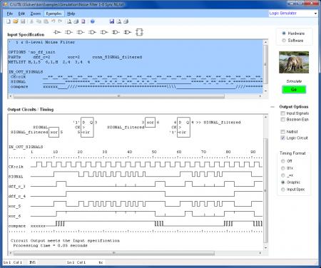 SIM Noise Filter logic simulator 450x376 Download Logic Design   Software de eletrônica digital Software de eletrônica Simulador eletrônica digital Download Circuitos
