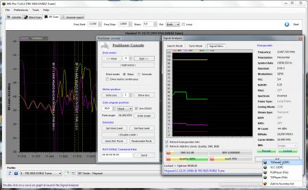 easyblindscanpro 7101 rfscan signal analyzer posconsole 450x278 Download   Software Easy BlindScan   Busca cega em placas DVB S Vídeos tv digital parabólica Download dicas como ligar uma antena parabolica