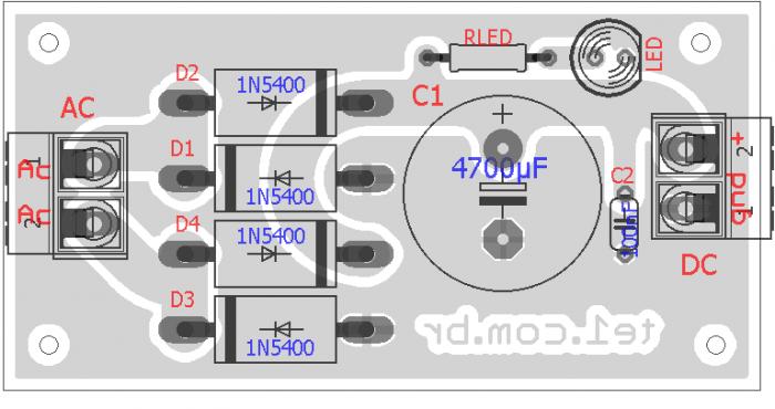 fonte simples para amplifciador audio raixo x 700x370 Circuito de fonte linear não regulada para amplificadores de áudio Fontes Dicas Circuitos Áudio