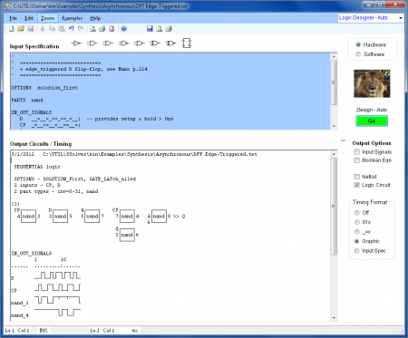 logic simulator eletronica digital 450x373 Download Logic Design   Software de eletrônica digital Software de eletrônica Simulador eletrônica digital Download Circuitos