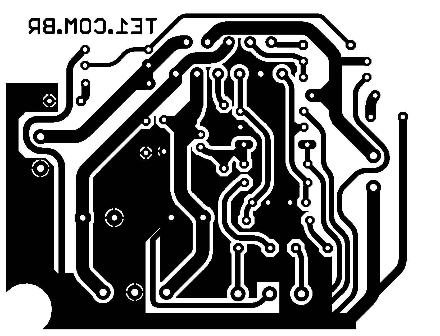 Amplificador Potncia Estreo Com Ci Tda7265 25 W 60 Watts Audio Amplifier Circuit Using Tda7296 Class Ab Estereo Potencia Placa Circuito 700x477 De