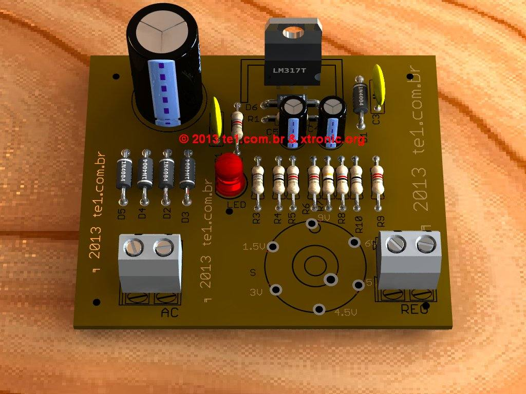 lm317-eliminador-bateria-pcb-3d-circuito-projeto
