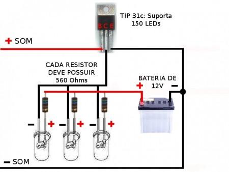28509879 450x338 Leds Rítmicos utilizando transistores NPN