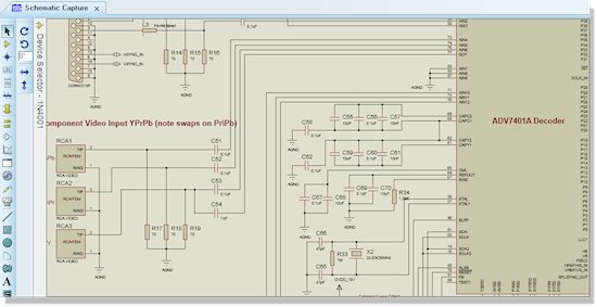 ISIS Schematic Capture module in Proteus. Download Labcenter Proteus Design Suite 8   ISIS, ARES Software de eletrônica Simulador placa de circuito impresso Microcontroladores Download Desenho de esquemas Desenho circuito impresso